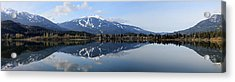 Whistler Blackcomb Green Lake Reflection Acrylic Print