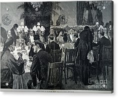 White House: State Dinner Acrylic Print by Granger