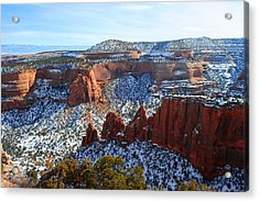 Winter Wonderland Acrylic Print by Deanne Smith