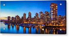 Yaletown From Cambie Bridge Acrylic Print