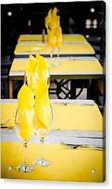 Acrylic Print featuring the photograph Yellow by Jason Smith