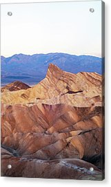 Acrylic Print featuring the photograph Zabriskie Point by Catherine Lau