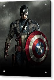 Captain America Civil War 2016 Acrylic Print