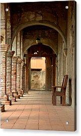 Mission San Juan Capistrano Acrylic Print by Brad Scott