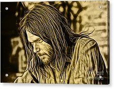 Neil Young Collection Acrylic Print