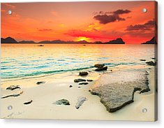 Seascape Acrylic Print by MotHaiBaPhoto Prints