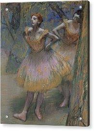Two Dancers Acrylic Print