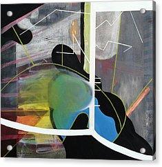 200 Percent Acrylic Print by Antonio Ortiz
