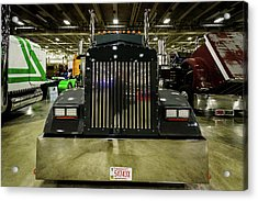 Acrylic Print featuring the photograph 2000 Kenworth W900 by Randy Scherkenbach