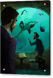 20000 Leagues Under The Sea Acrylic Print