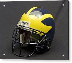 2000s Era Wolverine Helmet Acrylic Print