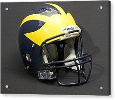 2000s Wolverine Helmet Acrylic Print