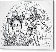 2001 Acrylic Print by Joseph Lawrence Vasile