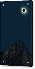 Acrylic Print featuring the photograph 2017 Eclipse by Leland D Howard