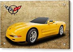 2002 C5 Chevy Corvette Acrylic Print