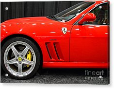 2003 Ferrari 575m . 7d9389 Acrylic Print by Wingsdomain Art and Photography