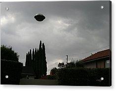2004 Real Ufo Evidence Acrylic Print by Michael Ledray