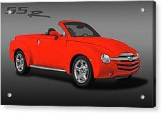 2005 Chevrolet Ssr - Super Sport Roadster  -  2005chevyssrlogo173401 Acrylic Print