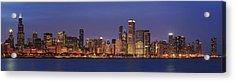 2010 Chicago Skyline Acrylic Print by Donald Schwartz