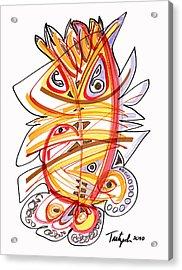 2010 Drawing Three Acrylic Print by Lynne Taetzsch