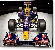 2010 Red Bull F1 Acrylic Print by Steve Zimic