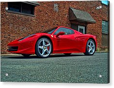 Acrylic Print featuring the photograph 2012 Ferrari 458 Spider by Tim McCullough