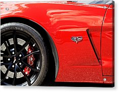2013 Corvette Acrylic Print