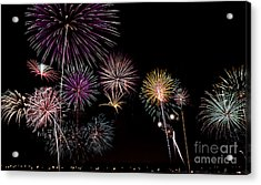 2013 Fireworks Over Alton Acrylic Print