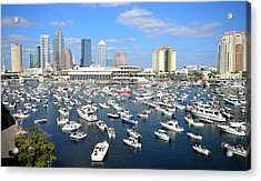 2013 Gasparilla Pirate Fest Acrylic Print by David Lee Thompson
