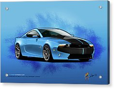 2014 Mustang  Acrylic Print