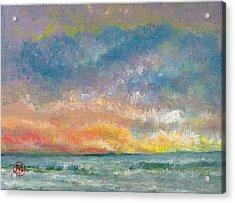 2014 Seascape Acrylic Print