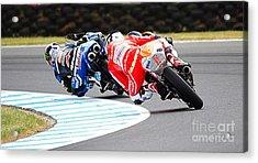 2015 Aussie Moto Grand Prix Acrylic Print by Blair Stuart