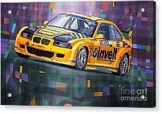 2015 Edda Cup Jested Bmw M3 E36 Liska Acrylic Print by Yuriy Shevchuk