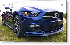 2015 Ford Gt Mustang Acrylic Print