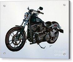 2015 Harley Davidson Dyna Acrylic Print by Janet Felts