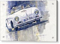 2015 Mille Miglia Porsche 356 1500 Speedster Acrylic Print by Yuriy Shevchuk