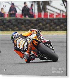 2015 Moto Grand Prix Acrylic Print by Blair Stuart