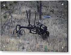 Old Farm Implement Lake George Co Acrylic Print