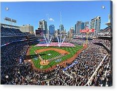 2015 San Diego Padres Home Opener Acrylic Print