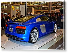 2016 Audi R8 Acrylic Print by Mike Martin