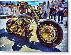 2016 Custom Harley Winner Acrylic Print