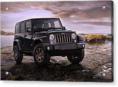2016 Jeep Wrangler 75th Anniversary Model Acrylic Print