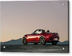 2016 Mazda Mx-5 Miata Acrylic Print by Drew Phillips