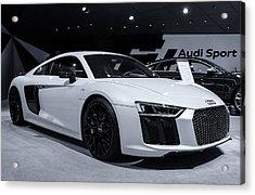 2017 Audi R8 Acrylic Print by Rachel Cohen