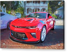 Acrylic Print featuring the photograph 2017 Chevrolet Camaro Ss2  by Rich Franco