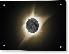 2017 Eclipse Hdr Acrylic Print