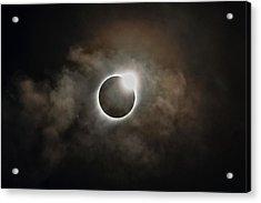 2017 Solar Eclipse Exit Ring Acrylic Print