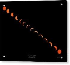 2017 Solar Eclipse Acrylic Print