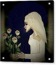 202 - Shy  Bride  2017 Acrylic Print