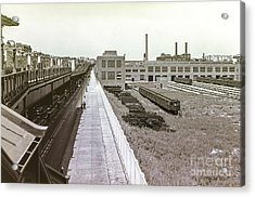 207th Street Subway Yards Acrylic Print
